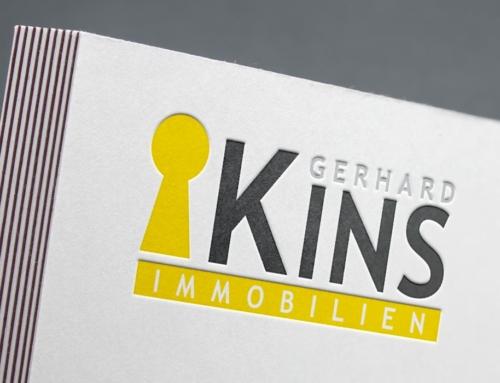 Kins Immobilien – Logo Design