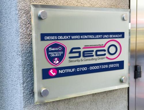 Seco Security – Aussenwerbung