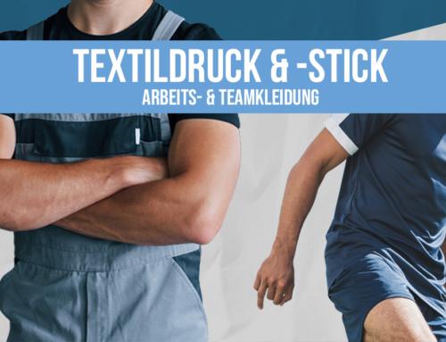 Textildruck & -Stick: Arbeits- und Teamkleidung