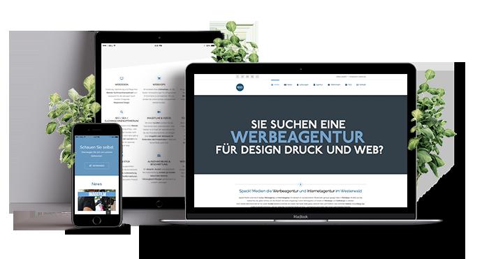 Spack! Medien Webdesign