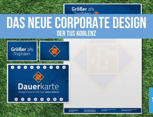 Das neue Corporate Design der TuS Koblenz